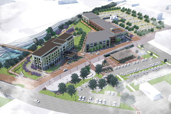 Jasper Cabinet property changes hands in anticipation of River Centre development