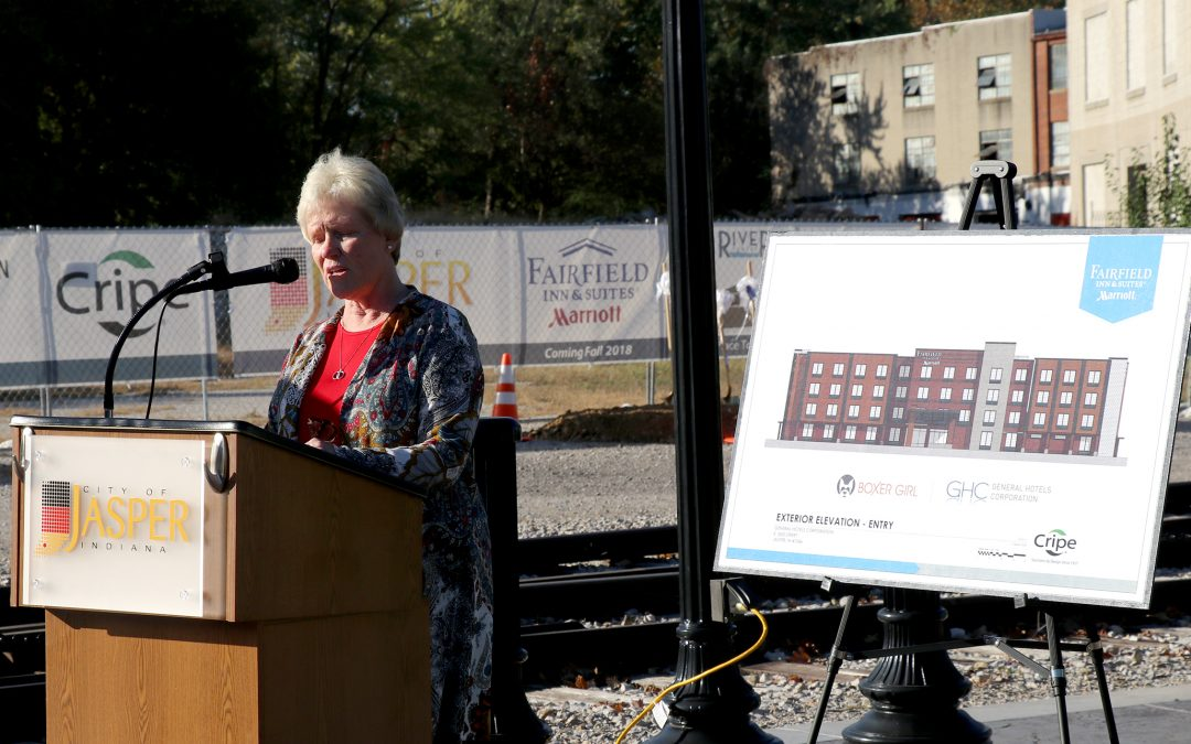 Hotel groundbreaking moves project forward